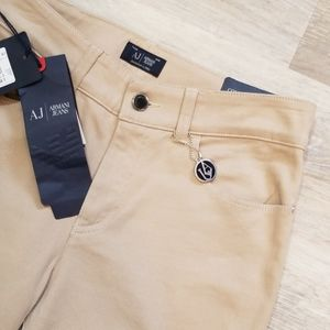 Armani Jeans Slim Fit Khaki Skinny Size 28